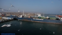 An online corporate photo shows one of AnRussTrans' cargo vessels.