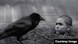 """Кадр из фильма """"Раскрашенная птица"""""""