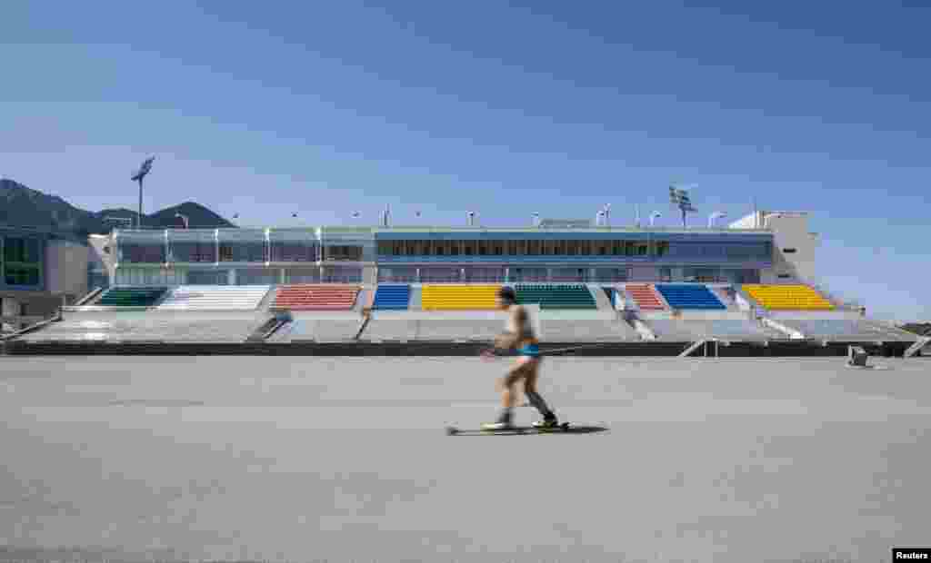 """Если бы Алма-Ата получила право провести зимнюю Олимпиаду, то лыжные соревнования и состязания по биатлону прошли бы в комплексе """"Акбулак"""""""
