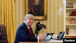 Президент США перед звонком королю Саудовской Аравии