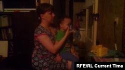 Юлия Юмаева с 3-летним сыном Арсением