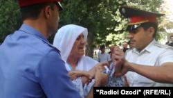 Задержание Гульчехры Шодмоновой