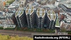 Дом, где находится пентхаус Рината Ахметова
