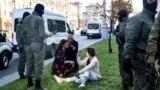 Задержания на женском марше в Минске: как это было
