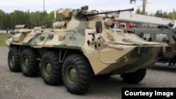 БТР-82, используемый подразделениями российской армии