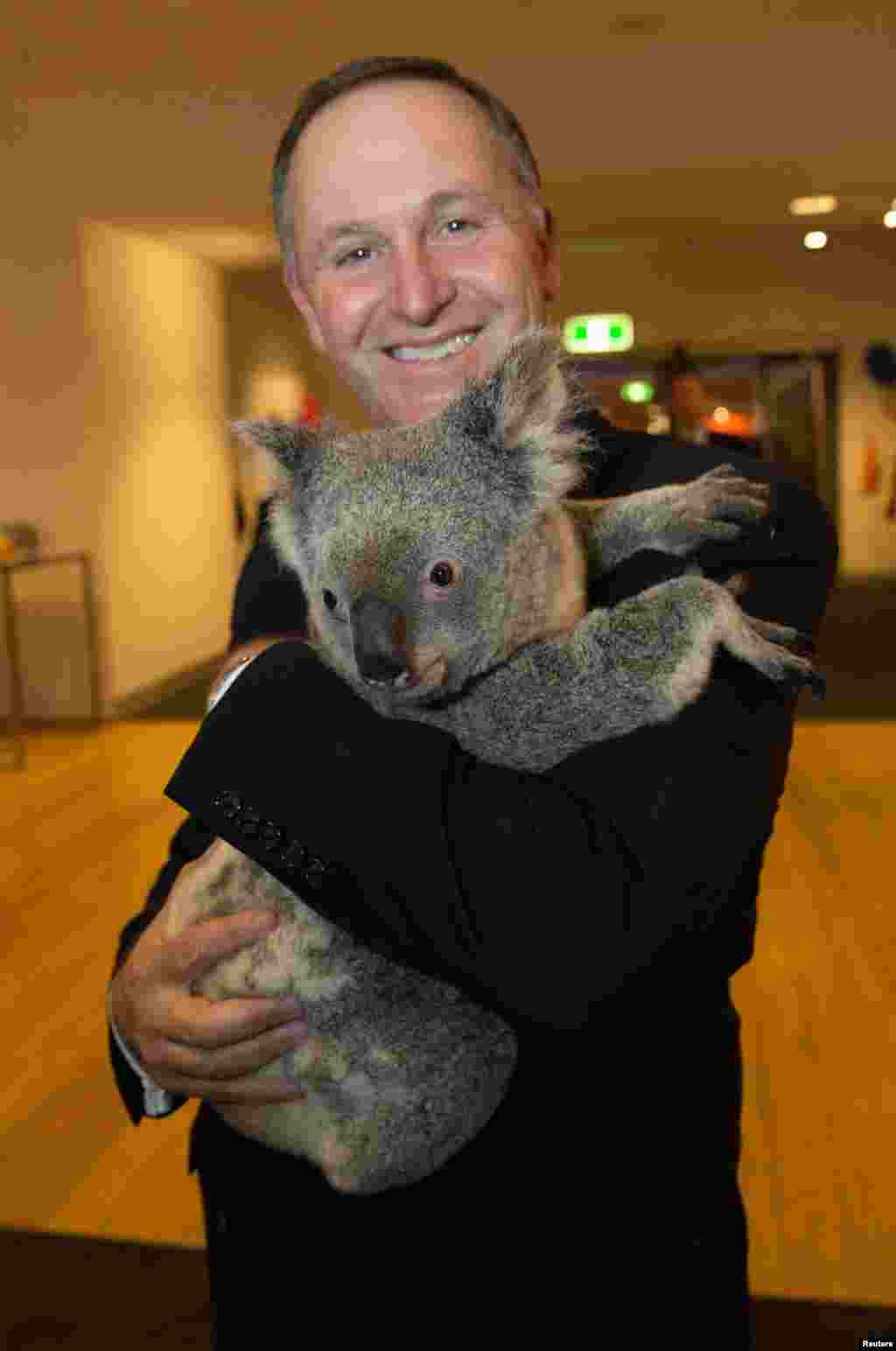 Премьер-министр Новой Зеландии Джон Кей.