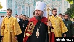 Глава Православной церкви Украины, митрополит Киевский и всея Украины Епифаний, Киев, 28 июля