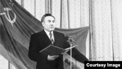 Инаугурация Назарбаева в 1991 году