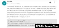 """Отзывы пользователей приложения """"Социальный мониторинг"""""""