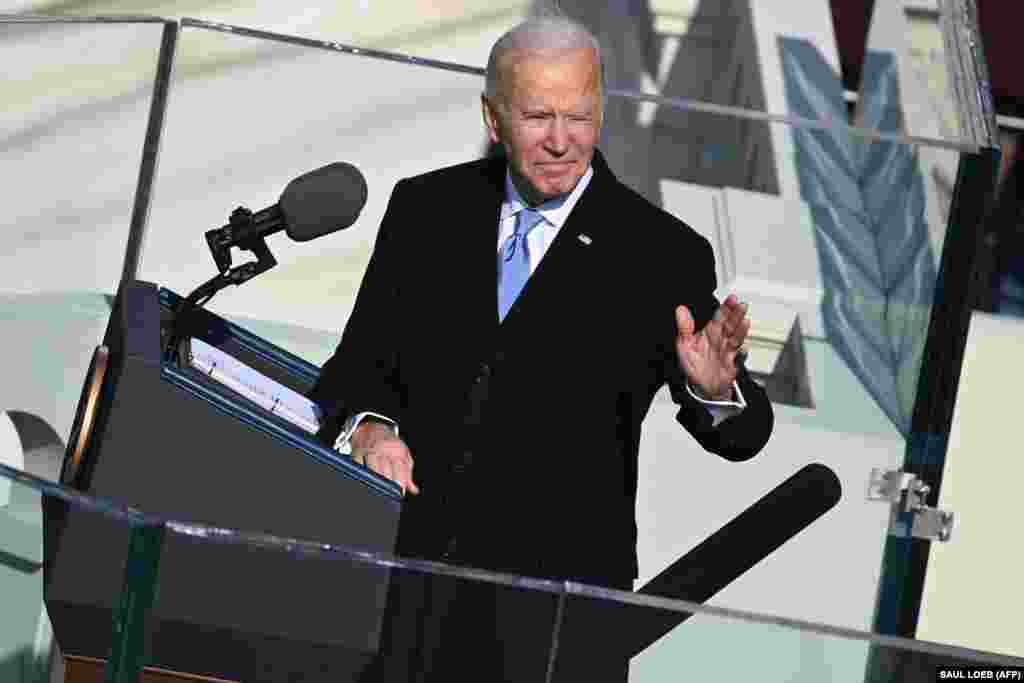 "In his inauguration speech, delivered two weeks after the January 6 attack on the U.S. Capitol, President Biden commented that, ""Today we celebrate the triumph not of a candidate but of a cause; a cause of democracy."""