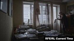 """Кадр из фильма """"В.Сильвестров"""""""