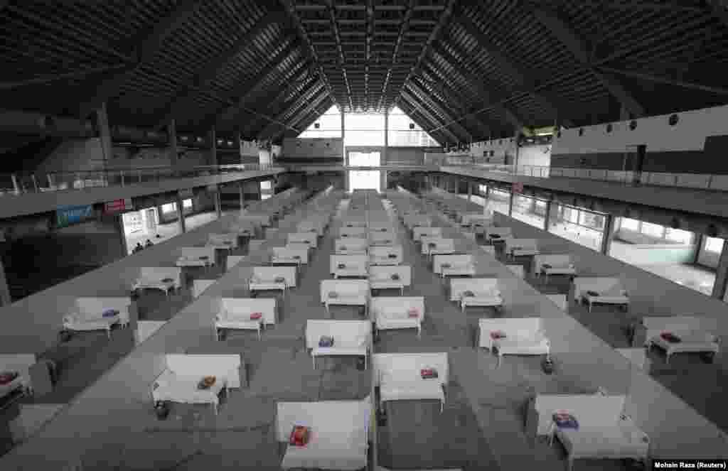 Помещения выставки EXPO отдали коронавирусным больным и в пакистанском городе Лахор
