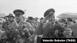 Леонов в 1965 году в Чехословакии