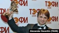 Бессменный ведущий программы Тимур Кизяков на вручении премии Тэффи-2006