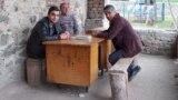 201002-Evening-Georgia-Armenian-Azerbaijani-Village