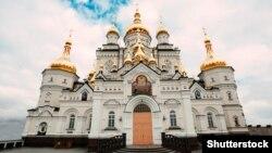 Собор на территории Почаевской Лавры
