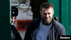 Навальный на свободе 6 марта 2015 г