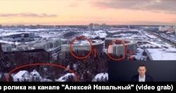 """1) Первый корпус жилого комплекса """"Сколково Парк"""" без окон; 2) Шестой корпус ЖК, вид из окон которого ограничены эркерами; 3) особняк Игоря Шувалова"""