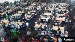 Обед для мигрантов в Мюнхене
