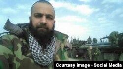 Фото одного из российских военнослужащих, опубликованное в социальных сетях на территории Сирии, источник: CIT