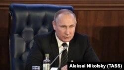 Владимир Путин (архивное фото, декабрь 2016)