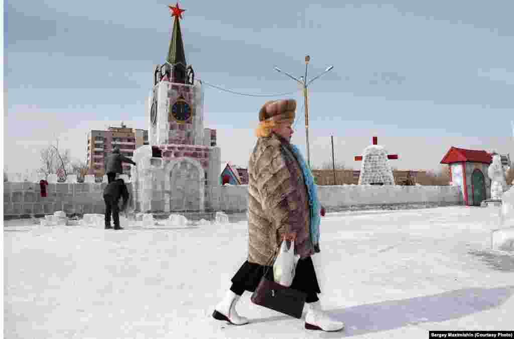 Ледяная модель Кремля, 2006