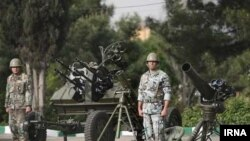 Солдаты армии Ирана