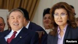 Нурсултан Назарбаев с дочерью Даригой, 2016 год
