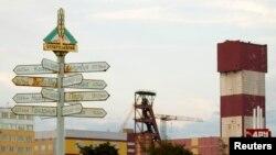 """Промышленные здания """"Беларуськалия"""" в Солигорске. Фото: Reuters"""