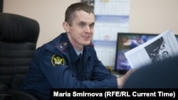 Начальник ИК-9 Иван Савельев