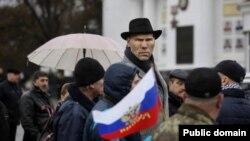 Николай Валуев во время визита в Севастополь