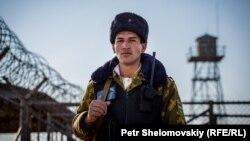 """Таджикский солдат на пограничном посте """"Пяндж"""""""