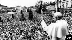 Иоанн Павел II в Вадовице, Польша