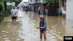 Наводнение в Сочи 25 июня 2015 года
