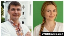 Антон Поляков и Анна Скороход