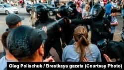 Брест, Беларусь. 20 сентября 2020 года