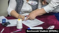 На выборах президента РФ в Чечне, 18 марта 2018 года, Грозный