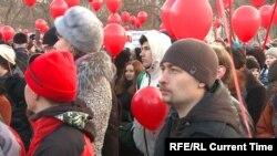 Митинг против отмены прямых выборов в Екатеринбурге 2 апреля 2018 года