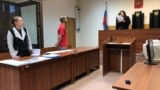 RUSSIA -- Mikhail Bykanov attends a court hearing, Moscow, July 29, 2019