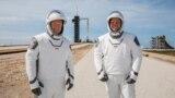 Астронавты Дуглас Хёрли и Роберт Бенкен. Фото: NASA