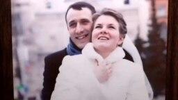 Павел Северинец с женой Ольгой