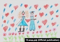 Валерия Сакаева, 7 лет, МВД Северная Осетия-Алания