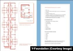 Квартирная планировка в жилом комплексе для бездомных в Эспоо