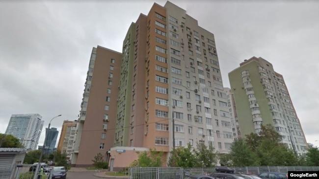 Жилищный комплекс на улице Авиаконструктора Микояна, 14, Google Streetview