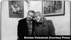 Вацлав Гавел с женой Дагмар