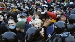 """Координатор """"ОВД-Инфо"""" о массовых задержаниях на митингах за Навального"""
