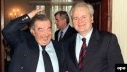Евгений Примаков и Слободан Милошевич