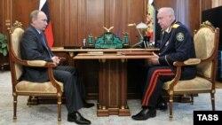Александр Бастрыкин и Владимир Путин