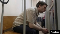 """Protester Mikhail Kosenko spent 18 months in a psychiatric facility with a diagnosis of """"paranoid schizophrenia."""""""