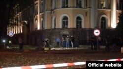 Взрыв в Одессе под зданием СБУ 27 сентября 2015 года